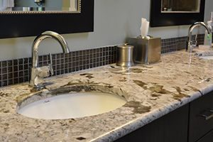 counter with bullnose edge